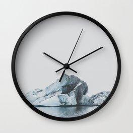Jökulsárlón, Iceland Wall Clock