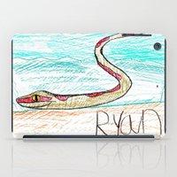 monty python iPad Cases featuring The Python by Ryan van Gogh
