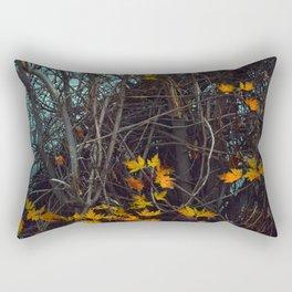 Vines Along the River Rectangular Pillow