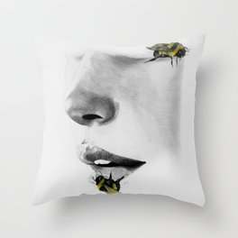 Do Not Disturb - The Moments of Calm Throw Pillow