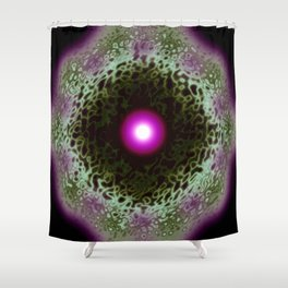Astral Gateway Abstract Shower Curtain