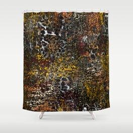 Frying safari Shower Curtain