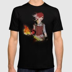 Lilith LARGE Black Mens Fitted Tee