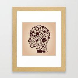 Furniture a head Framed Art Print