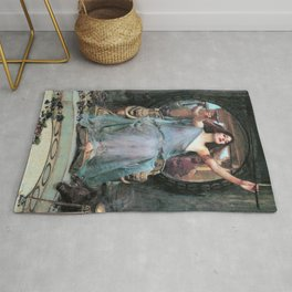 John William Waterhouse - Circe Offering The Cup To Odysseus - Digital Remastered Edition Rug