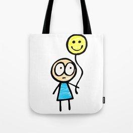 Am I Happy Yet? Tote Bag