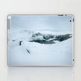 Lough Tay in winter time (RR 195) Laptop & iPad Skin