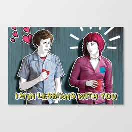 SCOTT IN LESBIANS WITH RAMONA Canvas Print
