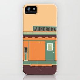 Desert Laundromat iPhone Case