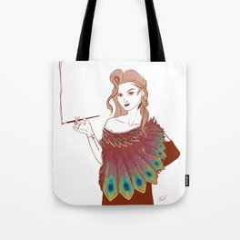 GIRL IN PINK Tote Bag