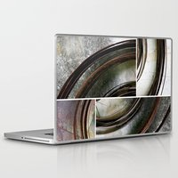 metal Laptop & iPad Skins featuring Metal by Erica Schiavi