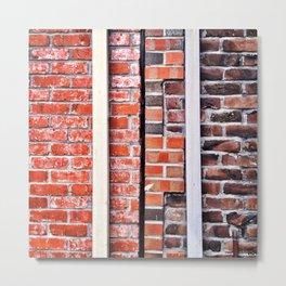 Brick Walls Metal Print