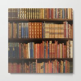 Power book Metal Print