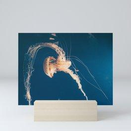Dancing Jellyfish Mini Art Print