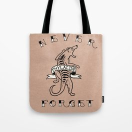 Never Forget - Thylacine Tote Bag