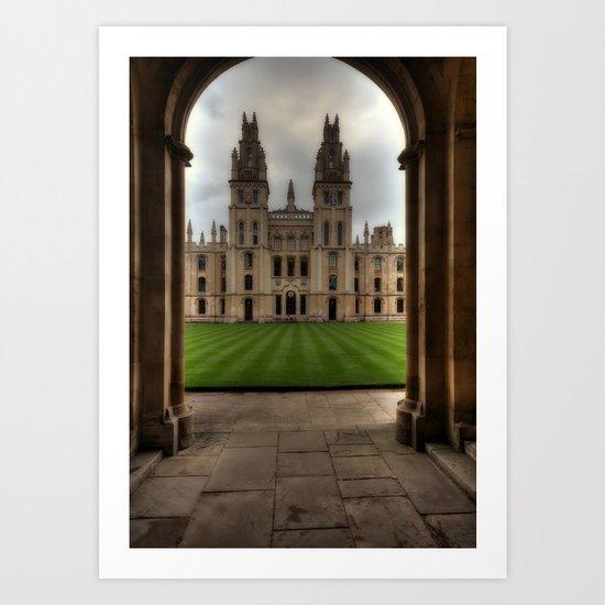 Christ Church College, Oxford Art Print