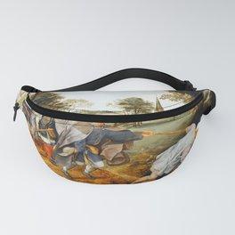 """Pieter Bruegel (also Brueghel or Breughel) the Elder """"The Blind Leading the Blind"""" Fanny Pack"""