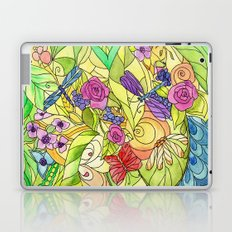 Stained Glass Garden Laptop & iPad Skin
