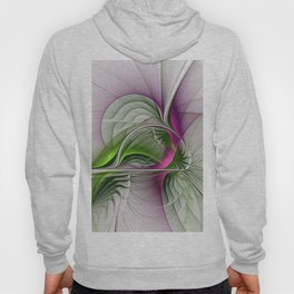 Wild Beauty, Abstract Fractal Art Hoody