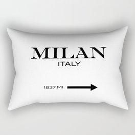 Milan - Italy Rectangular Pillow