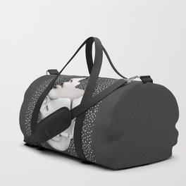 collage art / Faces 2 Duffle Bag