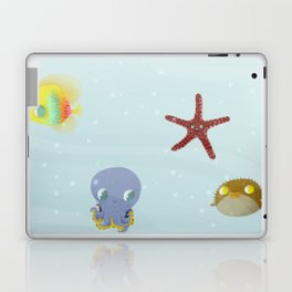 Bajo del mar Laptop & iPad Skin