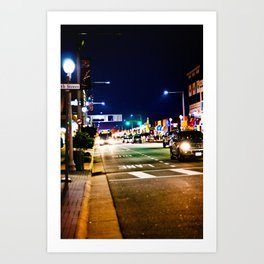 In The Streets Art Print