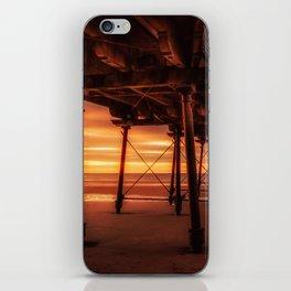 Under the Board Walk iPhone Skin