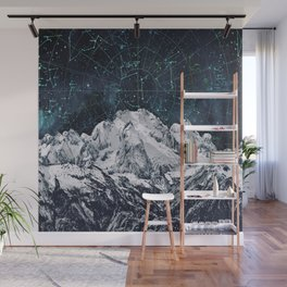 Constellations over the Mountain Wall Mural
