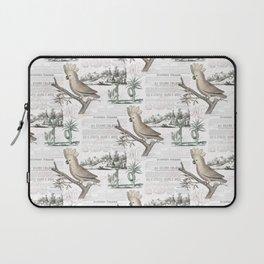 Paris Cockatoo Toile Laptop Sleeve