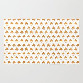Up Side Down Ice Cream Cone Rug