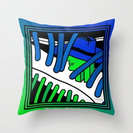 that is him Throw Pillow