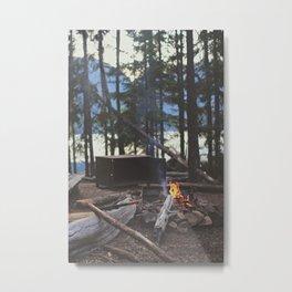 Summer Fires Metal Print