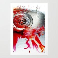 Water Colours Art Print