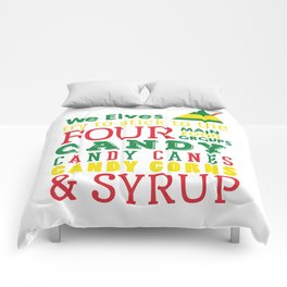 Elves food Groups - Elf the movie Comforters