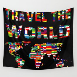 Love of travel Wall Tapestry