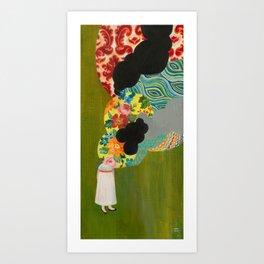 the Overwhelm Art Print