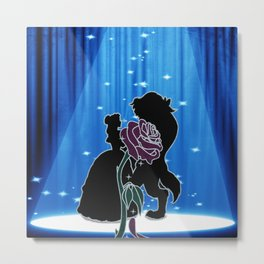 BEAUTY AND THE BEAST DANCE Metal Print