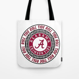 Alabama University Roll Tide Crimson Tide Tote Bag