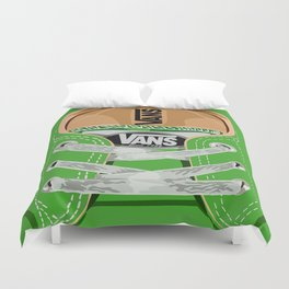 Cute Green Vans all star baby shoes apple iPhone 4 4s 5 5s 5c, ipod, ipad, pillow case and tshirt Duvet Cover