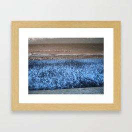 indoor rain Framed Art Print