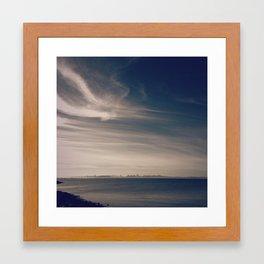 Tiny San Francisco Framed Art Print