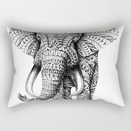 ELEPHANT--MANDALA Rectangular Pillow