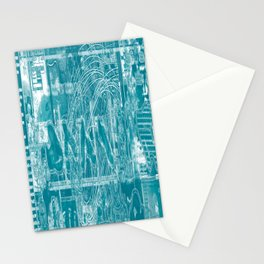 Life Only Makes Sense In Certain Fictions [Now In Duotone - Teal] Stationery Cards