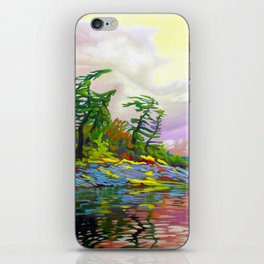 Wind Sculpture by Amanda Martinson iPhone Skin