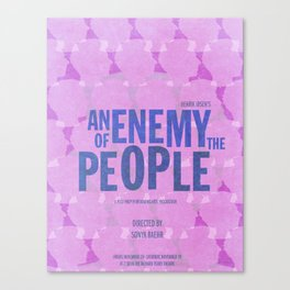 An Enemy of the People Canvas Print