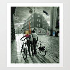 Day Dream City Art Print