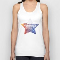 hollywood Tank Tops featuring Hollywood by Laura Ruth