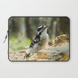 Downy Woodpecker Laptop Sleeve