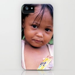 Young Filippino Lady. iPhone Case